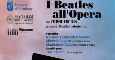 Two of Us: a Sirmione il duo acustico tributo ai Beatles con Giambelli & friends