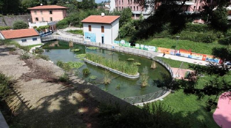 Ripresa dei lavori di sistemazione delle mura storiche al Parco dell'Acqua